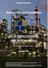 rubber chemical consultants Apr 2019 newsletter