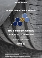 rubber chemical consultants Oct 2019 newsletter